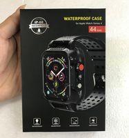 ماء كامل القضية مختومة غطاء ضد الصدمات كامل الجسم المحمية لشركة آبل حزام Watchstrap سلسلة iwatch 3 42MM وسلسلة 4 44MM IP68
