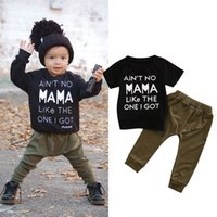 Baby Boys Clothes Set 2018 New Spring Summer Newborn Baby Gi...