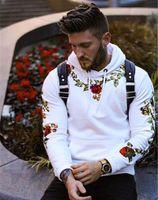Casual Mens Designer Hoodie Solid Color lose O Ansatz T-Shirt Homme Street Pullover Männer Bekleidung