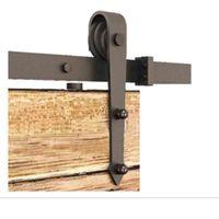 انزلاق الحديث الداخلية الخشب الصلب باب الحظيرة الأجهزة / مشاهدة صورة بشكل اكبر على مقربة ينة انزلاق الحظيرة الأجهزة الباب