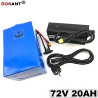 Batterie au lithium E-bike 72v 20ah pour Bafang BBSHD BBS02 1000W 1500W moteur vélo électrique batterie Li-ion 20S 72v avec 5A chargeur