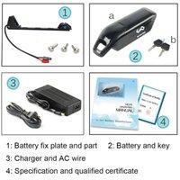 48V 12AH Дельфиновая батарея Samsung / NCR 18650 Cell E-Bike-аккумулятор 48V 11.6Ah Литий-ионная батарея + зарядное устройство 54.6V 2A