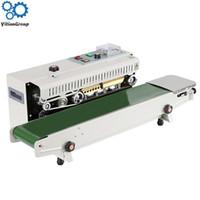 FR-900 continuo automático de la película de sellado de la máquina del papel de aluminio borde de la bolsa de la máquina de envasado de alimentos sellador 220V / 110V 850W 1PC