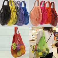 Fashion String Shopping Fruit Vegetables Grocery Bag Shopper...