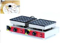 Ücretsiz Kargo 2 adet / lot 50 Adet Elektrikli Gözleme Makinesi Poffertjes Grill Hollandalı Waffle makinesi