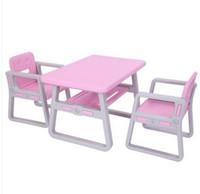 trasporto delle azione all'ingrosso di vendite CALDE US tavolo e sedie bambini Set - Toddler Attività sedia migliore per i più piccoli / Arte -Camera