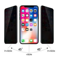 For Iphone 11 xs max Privacy Tempered Glass Screen Protector...