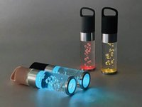 Taşınabilir Bluetooth Hoparlör S518 Yaratıcı Renkli Kristal Işık Cep Telefonu Çağrı Ses Dizüstü Hoparlör Ses Çubuğu