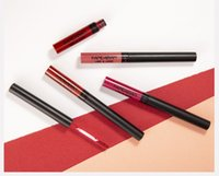 الجديدة القادمة HANDAIYAN الثاني-IN-ONE سائل أحمر الشفاه 12 الألوان طويلة الأمد مشرق الملونة لمعان الشفاه الشفاه