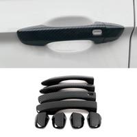 Autozubehör ABS Carbor Gate Türgriff Zierrahmen Aufkleber Abdeckung Formen für VW Volkswagen Tiguan MK2 Passat B8 Sitz Tarraco