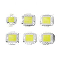 10W 20W 30W 50W 70W 80W 100W COB LED lámpara de la luz de la viruta 32-36V COB LED Chip integrado DIY del reflector del proyector del bulbo