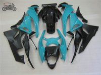 Passen Verkleidung Kits für KAWASAKI NINJA ZX6R 09 10 11 ZX 6R 636 ZX6R 2009 2010 2011 ZX636 blau schwarz Karosserie fairings Kits
