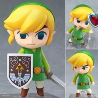 Легенда О Zelda Nendoroid Link The Wind Waker Breath Of The Wild Версия 413 553 733 ПВХ Фигурка Y19062901