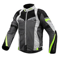 موتوكروس سباق سترة عاكسة شبكة تنفس الملابس سباق دعوى دراجة نارية سترة الأزياء الذكور معطف حجم S-3XL