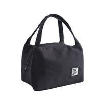 Lancheiras Mulheres Lona Funcional Portátil Lona Isolada Térmica Food Picnic Crianças Cooler Lunch Box Bag