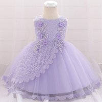 1 Years Birthday Party Washing Dress Of Girls Infant Baby Gi...