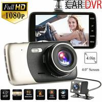GPS-Dual-Kamera-HD Auto DVR Fahrenrecorder-Nachtsicht-Videorecorder G- Sensor B