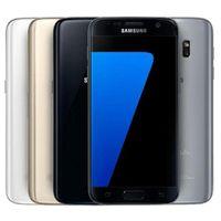 봉인 된 상자와 S7 쓰자 삼성 갤럭시 S7 5.1inch 4G LTE G930A / T G930V 4기가바이트 / 32기가바이트 16MP WIFI 블루투스 GPS 잠금 해제 스마트 폰