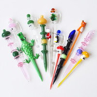 New Glass Dabber Tool Wax Dab Tool Carb Cap Dab Stick for gl...