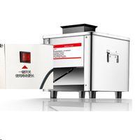 Kommerzielle Fleischschleifer Edelstahl Automatische Gemüseschneider Shred Slicer Dicing Machine 850W