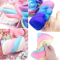 New 14cm Twisted Marshmallow Squishies Toys Jumbo Scent Slow...