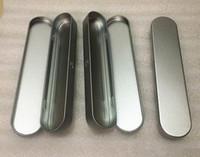 e kit de démarrage pour cartouche vape cigarette emballage mince boîte en métal pour batterie préchauffage pour stylo tactile