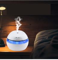280 ML Ultrasonik Hava Nemlendirici Mum Romantik Yumuşak Işık USB Esansiyel Yağı Difüzör Araba Arıtma Aroma Anyon Mist Maker DHL