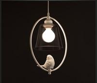 New Hot 북유럽의 단순한 식당 객실 새들의 소풍 미국의 국가 연구 복도 따뜻한 침실 샹들리에 조명 창조적 인 성격