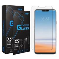 Vista clara Vidro temperado 2.5D Protetor de tela para LG TRIBUTE Royal Império V50S G8 G8X Thinq K40S K50s Dynasty SP200 K20-2019