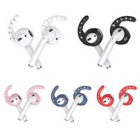 Per AirPods Ear Hooks silicone Earbuds Copre anti-perso ganci per le orecchie Anti-drop compatibile con Apple AirPods 2 e 1 o 3 coppie EarPods