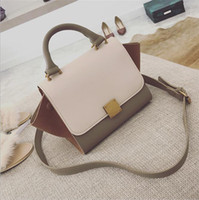 Designer- New women' s bag Europe and America big color ...