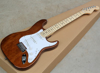Factory Wholesale Natural Electric Guitar with Mahogany Body...