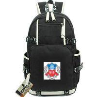 Di Roe рюкзак Helsingborgs если клуб день пакет HIF футбольная школа сумка футбол packsack компьютер рюкзак Спорт школьный открытый рюкзак
