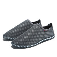 GOXPACER Men Shoes Slip On Casual Shoes Fashion With Holes M...