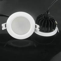 Os dispositivos elétricos de luzes Recessed diodo emissor de luz IP65 impermeáveis do teto de Downlights 7w 9w 12w 15w Dimmable aquecem / refrigere o branco