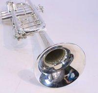 Vaka Ağız ile Jüpiter JTR100SQ Bb Trompet Instruments Pirinç Gümüş Kaplama Müzik Aleti Ücretsiz Kargo