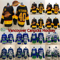 جديد فانكوفر canucks 50 سيزونز 40 إلياس بيترزسون 6 بروك بويسر 53 بو هورفات 33 هنريك سيدين دار 89 ألكساندر مويلني الهوكي الفانيلة