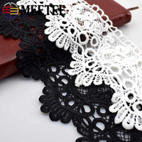 15Yards Polyester White Black Lace Trims Clothes Skirts Embr...