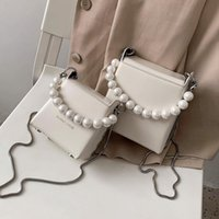 Mini Pearl Design Crossbody Bags For Women 2020 Summer Simpl...