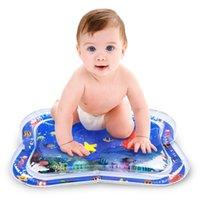 Cojín de agua inflable Mejor Bebé Juguete Hogar Esteras Asiento Infantil Tummy Time Diversión Juego Esteras Bebés para el verano