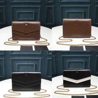 """LV """"لويس"""" حقيبة """"فيتون المحفظة الفاخرة crossbody أكياس الأزياء سلسلة sulpice سلسلة مخلب مصمم السلس محفظة تشا"""