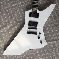 Высококачественная электрическая гитара белая краска, специальная электрогитара, мозаика для жизни, бесплатная доставка