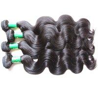 Estensione dei capelli Beautysister parte superiore dei capelli di qualità peruviana umani del Virgin Bundle tessuto del corpo Onda 4Pieces 400g Lotto Fro Una testa piena da un donatore