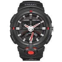 2020 Nova Assista Smael Brand Watch Men Moda Casual Electrónica Relógios de pulso Hot Relógio Digital Outdoor Sports Relógios 1637