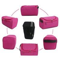 Unisex portátil de viaje bolsa de lavado exterior de tela Oxford cosmético duradero Bolsas Ropa Misceláneas del almacenamiento de la bolsa manera compone Bolsas DBC DH1101