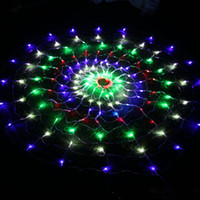 160 светодиодов рождественские огни открытый паутина свет сосулька фея освещение новогоднее украшение водонепроницаемый 220 В Pisca Luminaria