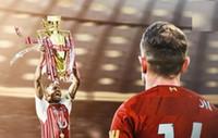 P دوري كأس باركليز كرة القدم الراتنج الحرف الكأس 2019-2020 الموسم الفائز مشجعي كرة القدم للمجموعات والهدايا التذكارية 15cm و، 32CM، 44CM 77CM و