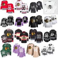 Golden Edition Chicago Blackhawks 12 Alex Debrinkat Трикотажные изделия Мужчины Ледяной хоккей 2 Дункан Кит 20 Брэндон Саад 8 Доминик Кубалик Пользовательское название