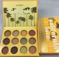 maquillage composição 12Color / conjunto paleta sombra GEAIMEI Califórnia amor pressionado paleta pó NET WT.12 * 0,90g