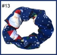 free shipping 300pcs inspired scrunchies christmas Scrunchie...
